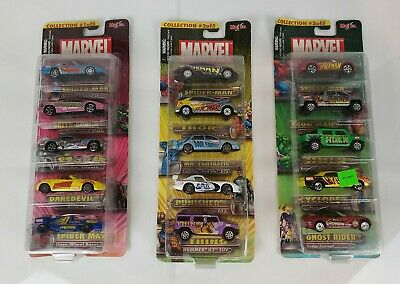 $ CDN21.72 • Buy MAISTO 2002 ULTIMATE MARVEL DIE CAST CAR COLLECTION #1 2 3 RARE 5 Pack Lot