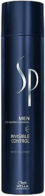 £7.99 • Buy Wella SP Men System Professional INVISIBLE CONTROL Matte Hold Hair Spray 300ml