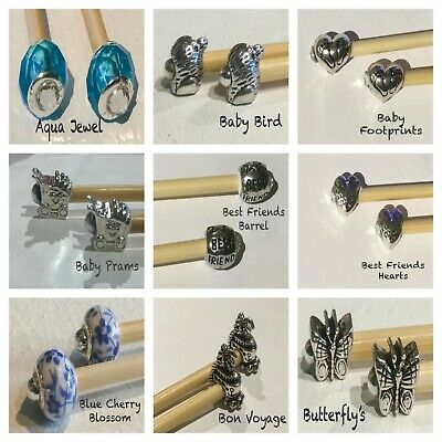 £1 • Buy European Charm Beads, Buy 1 Get 1 Free Great Selection