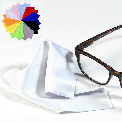New Microfibre Cleaning Cloth For Glasses Sunglasses Phone Camera Lens Screen UK • 1.39£