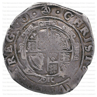 1641-3 Charles I Hammered Silver Halfcrown Mm Triangle In Circle • 155£