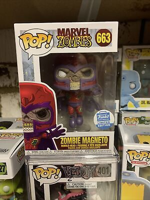 Zombie Magneto Funko Pop Vinyl #66 Marvel Zombies Funko Shop Exclusive X Men • 35£
