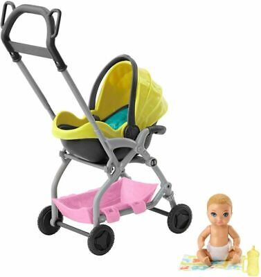 Barbie GFC18 Skipper Babysitters Inc. Doll And Playset, Small Multicoloured  • 26.79£