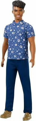 Barbie FXL61 Ken Fashionistas Doll Wearing, Floral Shirt  • 13.79£