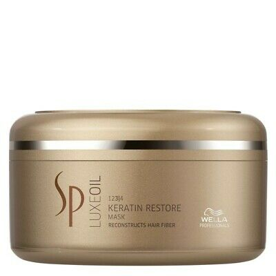 Wella SP System Professional Luxe Oil KERATIN RESTORE Mask 150ml • 13.99£