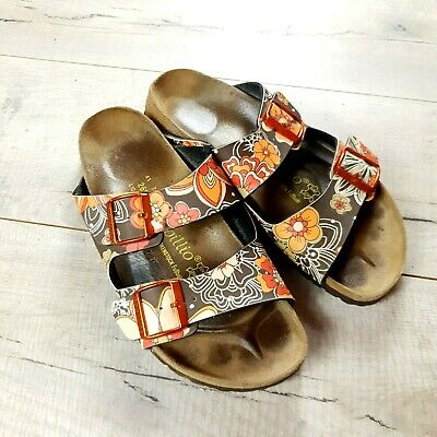 Womens Birkenstock Papillio Arizona Sandals Size 41 Narrow UK 7.5  #B56 • 30£