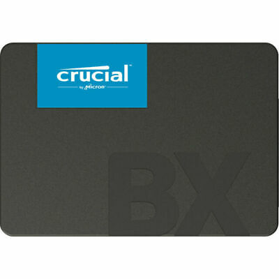AU93.44 • Buy Crucial Bx500 - Solid State Drive - 480 Gb - Internal - 2.5` - Sata... NEW