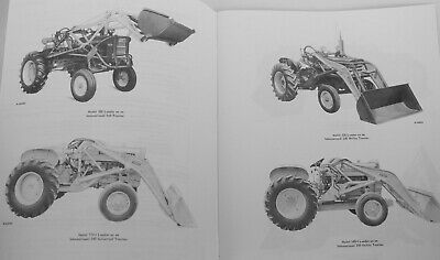 AU16.22 • Buy IH Wagner Front End Loaders & Backhoe Owners Manual For International Farmall