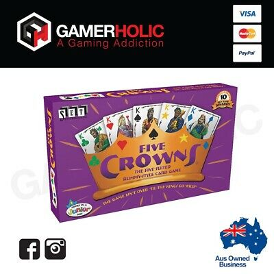 AU25.99 • Buy Five Crowns Card Game Brand New