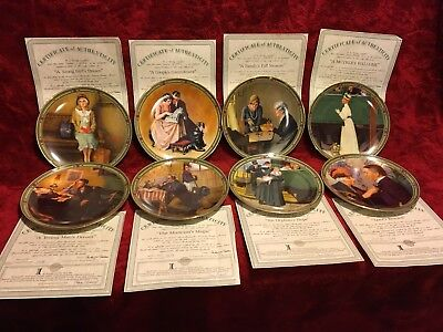$ CDN38.93 • Buy Lot 8:  Norman Rockwell  American Dream  Series Collector Plates