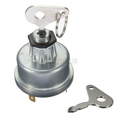Digger Tractor Plant Ignition Switch + 2 Key For Massey Ferguson JCB LUCAS 128sa • 5.45£