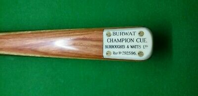 Custom Made Burwat Champion Style Replica 1 Piece Snooker / Pool Cue. • 250£