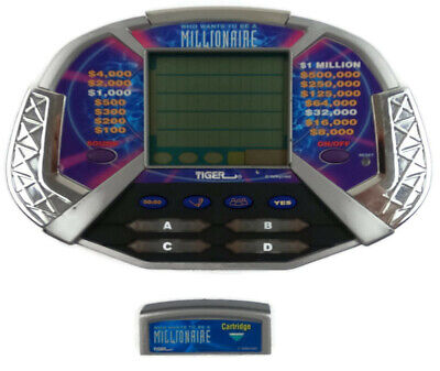 £7.28 • Buy Vintage 2000 Tiger Electronics Who Wants To Be A Millionaire Game W/ Cartridge