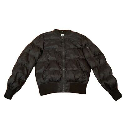 $68 • Buy Alpha Industries Elastell Fill MA1 Puffer Black Size Large