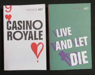 Ian Fleming - Casino Royale + Live And Let Die Vintage 007 • 5.99£