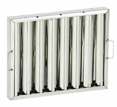 Stainless Steel Box of 6 filters Canopy Baffle Grease Filter 495h x 395w x 48mm