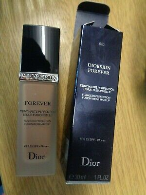 Dior Diorskin Forever Flawless Perfection Fps 25 Spf Shade 040 Honey Beige Boxed • 29.99£
