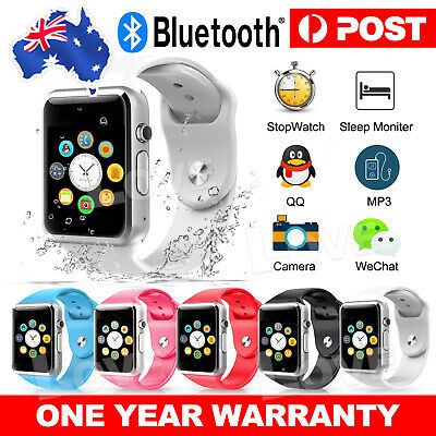 AU16.85 • Buy 2021 A1 Bluetooth Smart Watch Wristwatch For Android Phone Intelligent Men Women