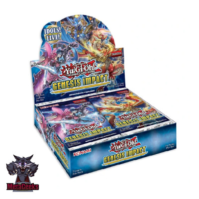 Yu-Gi-Oh! Genesis Impact Booster Box  NEW & SEALED 24 PACKS 1st Ed - In Stock! • 59.95£