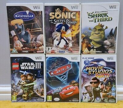 Nintendo Wii - Children/Kids Game Bundle! *Cleaned & Tested! *1 DAY DISPATCH!* • 29.95£