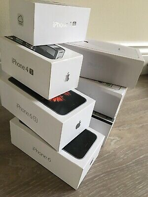 7 X Iphone: 8, 4, 4s, 5s, 6, 6s Empty Genuine Boxes + Some Accessories Job Lot • 14£