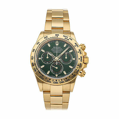 $ CDN72109.57 • Buy Rolex Cosmograph Daytona Auto Yellow Gold Mens Oyster Bracelet Watch 116508