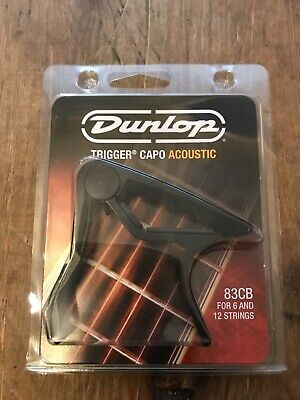 $ CDN26.44 • Buy Jim Dunlop 87B Electric Guitar Trigger Capo In Black
