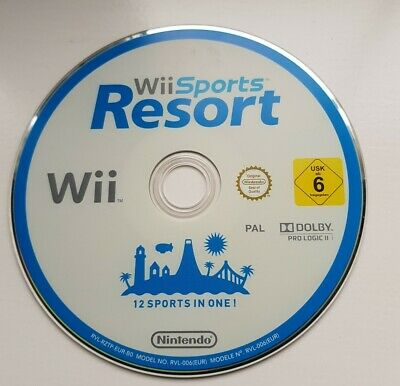 Nintendo Wii Game . Wii Sports Resort . Sports Resort . Game Disc Only  • 3.20£