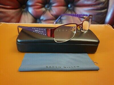 Karen Millen Glasses Frames 49-18-135 KM 30 With Box • 11.49£