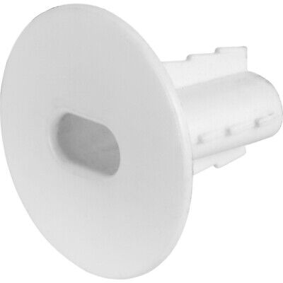 £1.99 • Buy Plastic Hole Tidy Wall Grommet Twin Coax Aerial Cable Entry Virgin Media WHITE