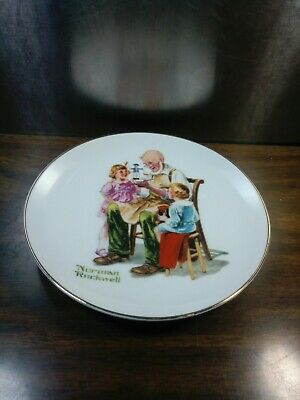 $ CDN62.38 • Buy Norman Rockwell Museum The Toy Maker 1984 Plate Vintage Collector's Decorative