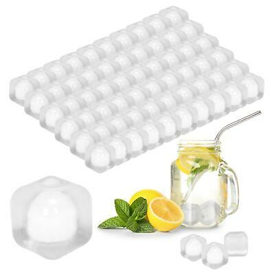 £6.99 • Buy 60 X Ice Cubes Quick Freezing Drink Cocktail Ice Blocks Clear White Set