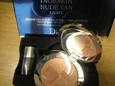 Dior Compact Healthy Glow Enhancing Powder Diorskin Nude Tan New Damaged Box  • 29.99£