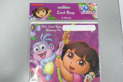 Dora The Explorer Birthday 8 Party Loot Bags Party Favour Brand New Sealed • 1.59£