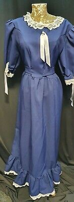 Ladies Victorian Maid Posh Fancy Dress Costume Womens Outfit Size 12- 14 • 18.99£