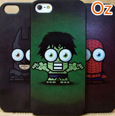 AU11 • Buy Big-Eyes Comic Hero Case For Sony Xperia XZ2 Premium, Painted Back Cover