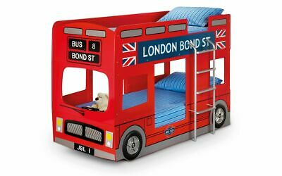 £519.99 • Buy London Bus Kids Bunk Bed 2 Man Delivery By Appointment