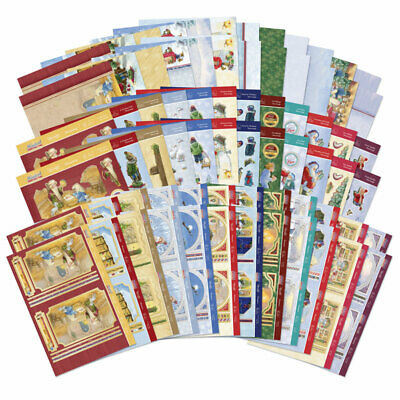 £4.40 • Buy Christmas Card Making Kits Deco-Large Decoupage Toppers Hunkydory Magical Time