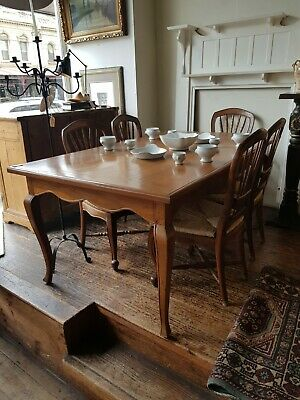 AU790 • Buy Table Kitchen Dining French Provincial Sth. Melb. Wood Reproduction