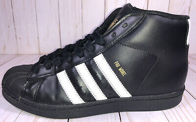 £20.48 • Buy Adidas Youth Originals Pro Model GS Shoes Size 5 Black / White-Gold Shell Toe