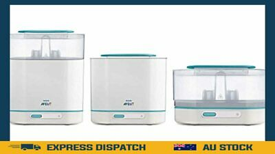 AU131.99 • Buy Philips Avent 3-in-1 Electric Steam Steriliser With Fast Cycle And Auto Shut-Off