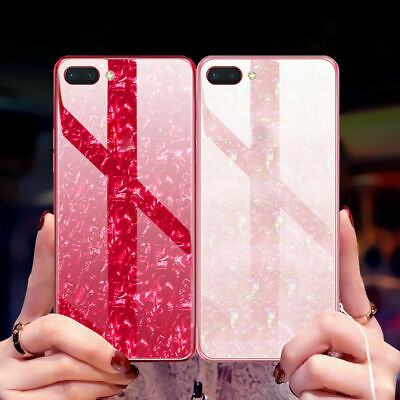 AU14.50 • Buy  OPPO R17 Pro AX5 A57 A59 A73 Case Cover Special Design Tempered Glass Back