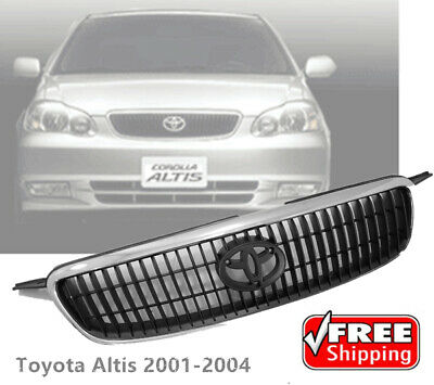 $88.88 • Buy NEW Front Chrome Hood Grille Grill Fit For Toyota Corolla ALTIS 2001 02 03 2004