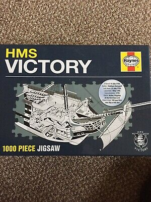 Hms Victory 1000 Piece Haynes Jigsaw - New Lord Horatio Nelson Ship  • 4.50£