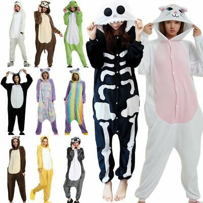 Unisex Adult Animal Onsie88Onesie1 Anime Cosplay Pyjama Kigurumi Fancy Dress* • 11.77£