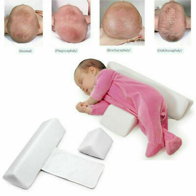 £12.49 • Buy Newborn Infant Baby Side Sleep Pillow Support Wedge Cushion Anti-roll Adjustable
