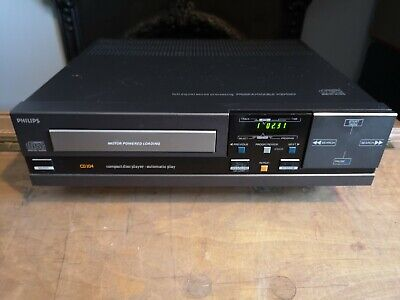 Philips CD104 Compact Disc CD Player Vintage Hifi Separate • 24£