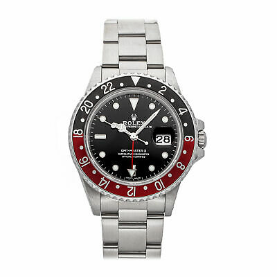 $ CDN16452.06 • Buy Rolex GMT-Master II Coke Auto Steel Mens Oyster Bracelet Watch Date 16760