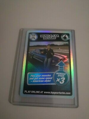 Top Gear Turbo Challenge SUPER RARE TRADING CARDS 273/276 JUST OPENED PACKETS • 12.50£