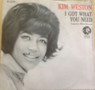 Kim Weston - I Got What You Need - MGM - Excellent • 6£
